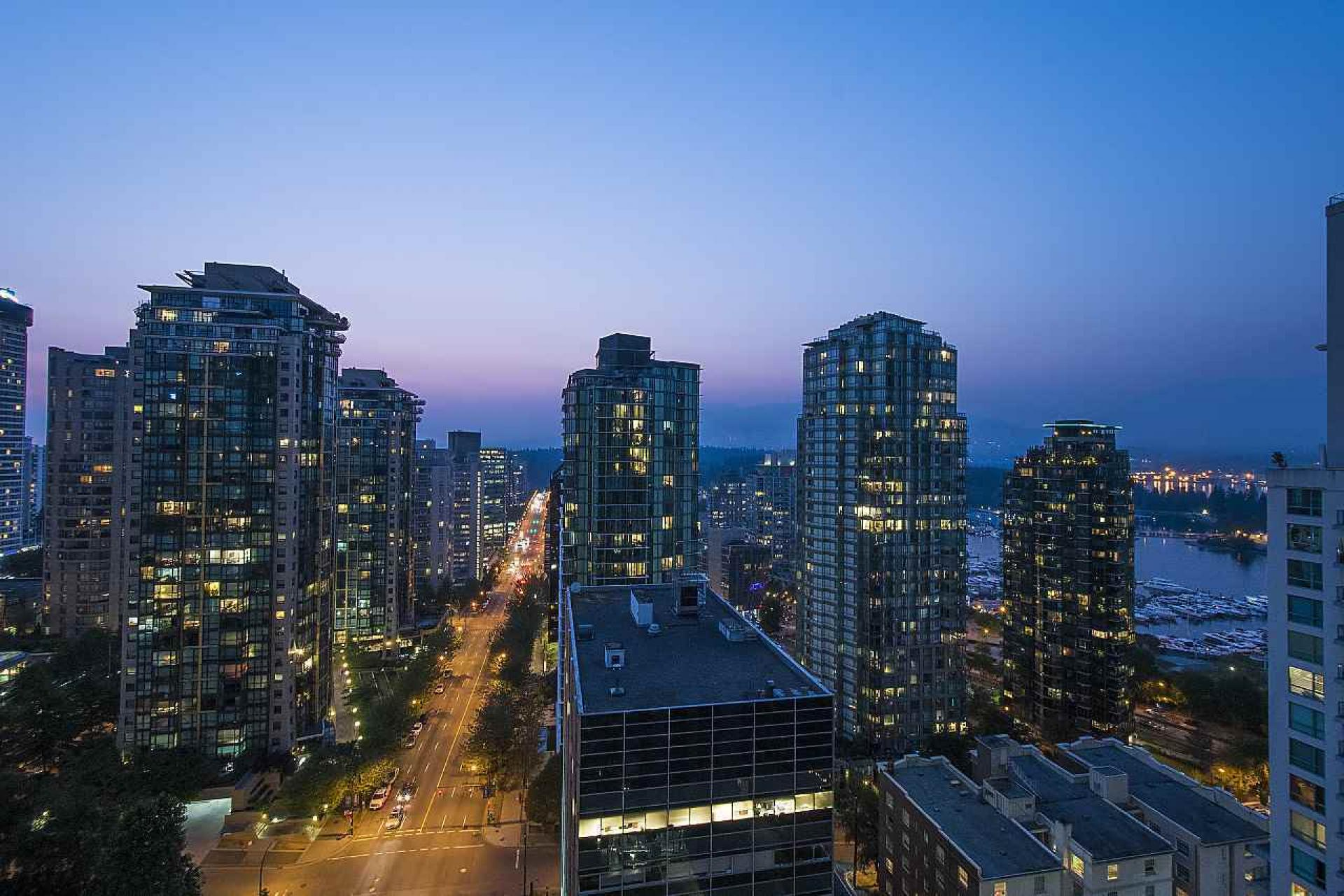2104 - 1239 W Georgia Street, Coal Harbour, Vancouver West